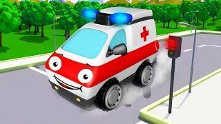 Мультики про Скорую Помощь и Пожарную Машину Новые Мультфильмы 2018 Машинки для Детей