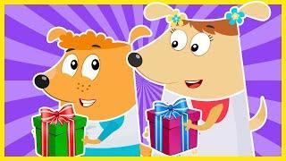 Мультики для развития ребенка. Новые серии Семейка Собачек. Развивающие мультфильмы для детей