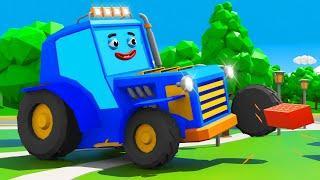 Синий Трактор Том ПОТЕРЯЛ ТОРТ! Мультфильмы для детей Мультики