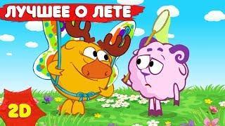 Смешарики 2D | Лучшие серии про лето! Сборник - Мультфильмы для детей