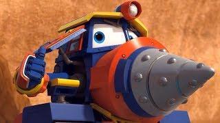 Роботы-Поезда (Как прокачать Виктора? и Фестиваль фейерверков!) 2 сезон | Мультфильмы для детей