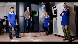 Двухпорошковый 3D принтер Росатома
