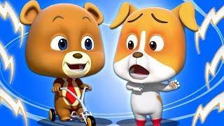 Alex's Bike | детские забавные видеоролики | мультфильмы для детей | Loco Nuts | Kids Tv Russia