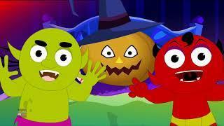 привет его Хэллоуин | русский мультфильмы для детей | Hello Its Halloween | Booya Russia