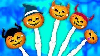 семейство тыквенных пальцев | Pumpkin Finger Family | Booya Russia | русский мультфильмы для детей