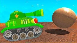 Мультики про #машинки танк и БТР! Новые Мультфильмы для мальчиков про танки на русском 2018