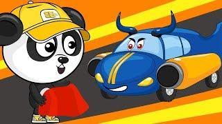 Мультик Про Машинки – Спортивный Автомобиль – Развивающие Мультфильмы Для Детей