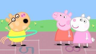 Мультфильмы Серия - Свинка Пеппа на русском все серии подряд - Компиляция школы 3 - Мультики