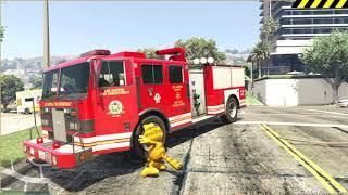 Мультики про машинки - Работа пожарной службы. Новые развивающие мультфильмы для детей 2019