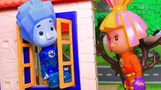 Мультфильмы с игрушками для детей. Окно/Fixiki. Развивающие мультики