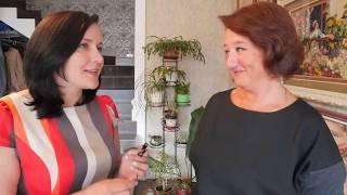 Как сделать цветок своими руками?//в гостях у мастерицы лентами  Марины Брановицкой Часть1