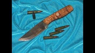 Как сделать классический нож поэтапно от чертежа до рукоятки своими руками