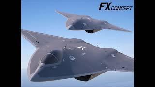F- A XX  шестое поколение истребителей США
