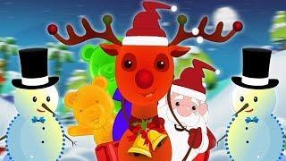 звяканье Колокола | Мультфильмы для детей | Jingle Bells | Kids Baby Club Russia