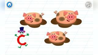 Супер Азбука - буква С ! Развивающие мультфильмы ! Алфавит для малышей