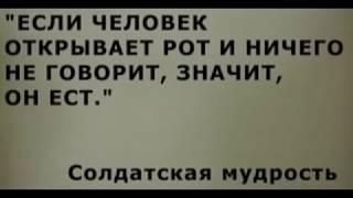 Афоризмы и цитаты (109 штук) - Армейский юмор