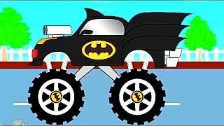 Мультик про машинки   Гонки Монстр Трак # мультик игра , Мультфильмы для детей