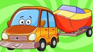 Развивающие Мультики Для Детей – Машинка Едет в Отпуск – Мультфильмы Про Машинки Для Малышей