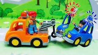 Видео с игрушками про машинки все серии подряд. Развивающие игрушечные мультики для детей
