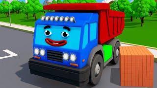 Мультики про машинки - Грузовик МАКС и Экскаватор ПОЛ - Строительные Машины - Мультфильмы для детей