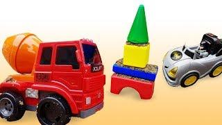 Мультфильмы для детей. Машинки для мальчиков. Песочница: сборник