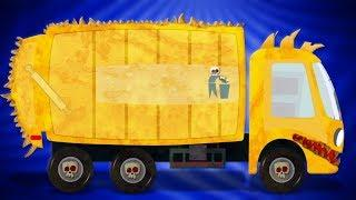 Umi Uzi Russia | Мусоровоз | Автомойка | Scary Toy | Garbage Truck | русский мультфильмы для детей