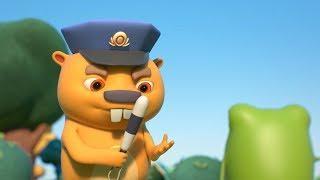 Новые мультики - Бобр Добр - Мишень и Похищение - Веселые мультфильмы