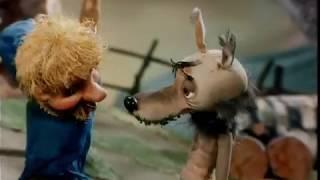 Советские мультфильмы. Волк и телёнок