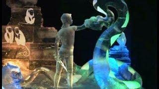 В Мурманской области любимые мультфильмы ожили во льду
