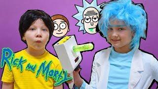 КОСПЛЕЙ РИК И МОРТИ. Как сделать ПОРТАЛЬНУЮ ПУШКУ Рика / portal cannon Rick and Morty in real life