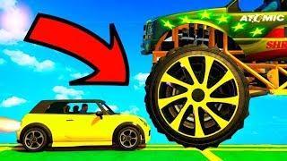 Веселые приключения машинок Димоныча! Мультфильмы про машинки для мальчиков! Игровые видео для детей