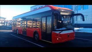 В Тюмени подвели итоги эксплуатации первого электробуса