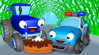 Мультики про Машинки Синий Трактор и СУПЕР ПРИКЛЮЧЕНИЯ Мультфильмы для детей