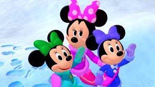 Клуб Микки Мауса - Зимний бал бантиков. Часть 1 - Мультфильм Disney Узнавайка | Сезон 5, Серия 5