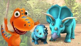 Поезд Динозавров. Детский мультик. Прекрасное украшение