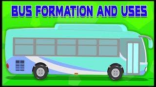 токио автобус | русский мультфильмы для детей | Tokyo Bus Formation And Uses | Umi Uzi Russia