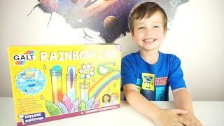 Как Сделать Радугу Эксперименты для Детей Mosaic Kids Радуга в Пробирке Радужные Очки Новый Цвет
