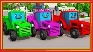 Мультики про машинки - ТРАКТОР и сила машин! Новые Мультфильмы 2018 для детей