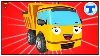 Мультфильмы для детей Грузовик и Трактор ИГРАЮТ  Мультики про Машинки HD