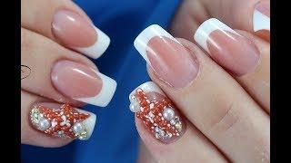 Дизайн ногтей МОРСКАЯ ЗВЕЗДА / Как сделать морскую звезду на ногтях