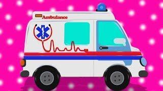 машина скорой помощи | детей игрушка | Ambulance | Umi Uzi Russia | русский мультфильмы для детей