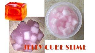 КАК СДЕЛАТЬ JELLY CUBE SLIME??//HOW TO MAKE A JELLY CUBE SLIME??//ВЛАД ВПАФИ