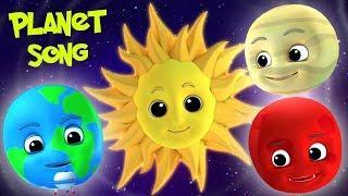 песня планеты | названия планет | русский мультфильмы для детей | Planets Song | Baby Box Russia