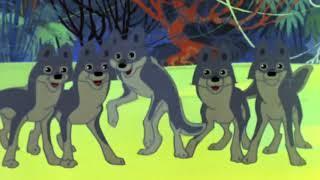 """Мультфильм """"МАУГЛИ"""" 1973 года.  Все серии подряд. Советские мультфильмы, мультики для детей."""