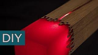 Как сделать лампу ценою 1100 евро из эпоксидной смолы. #Стройхак