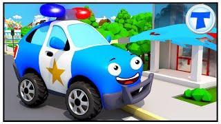Полиция Пожарная Мультики про Машинки Помощники в Городе Мультфильмы для детей Все серии