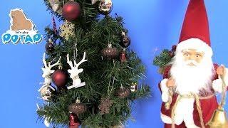 Новогодняя Сказка - Новогодние мультфильмы для детей! Босс Молокосос и Мультяшные Персонажи