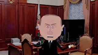 Путин и акции протеста в Европе. Zapolskiy мультфильмы