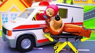 Маша и Медведь мультик с игрушками – Помощь другу! Мультфильмы новинки