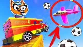 МУЛЬТИКИ ПРО МАШИНКИ Кота Барбоса ! Мультфильмы для мальчиков - cars videos for kids